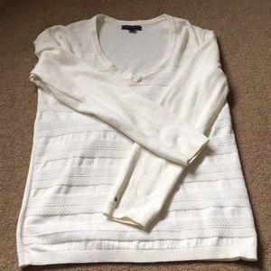 Tommy Hilfiger White Long Sleeve